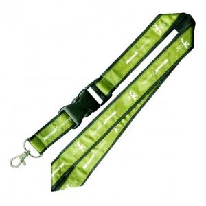 Lanière personnalisée avec double couche en satin sku: cordon - 0001