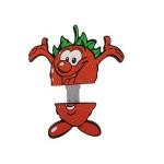 Clés usb personnalisé, sku: fraise4