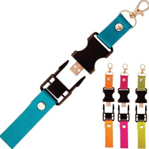 Lanière personnalisée avec clés usb intégré sku cordon-0014