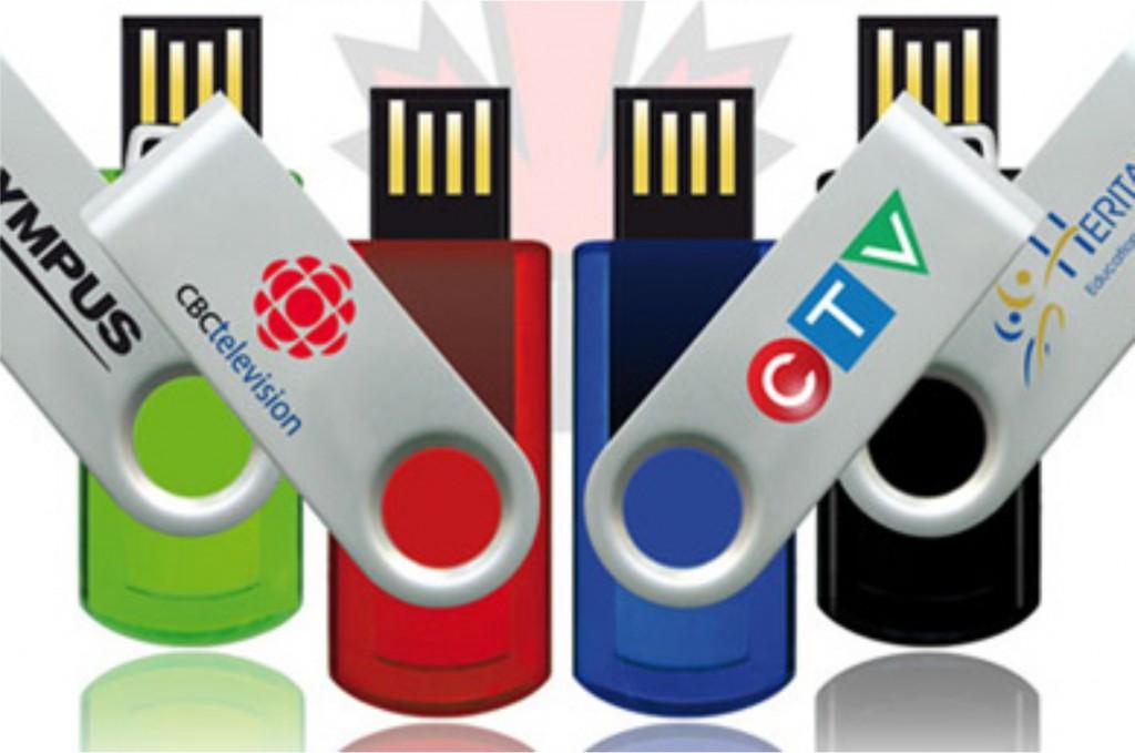 Fabriqué-au-Canada-batons de memoire cles USB