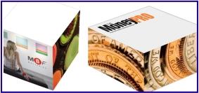 Article promotionnel, objet promotionnel, bloc-notes personnalisé