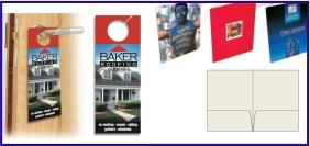 Articles promotionnels, Imprimere numérique - offset, accroche porte