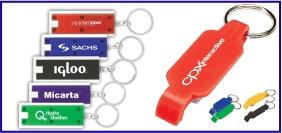 Article promotionnel, objet promotionnel, porte clés personnalisé