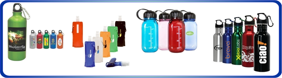 Articles promotionnels, bouteille d'eau, bouteille sport, gourdes personnalisées