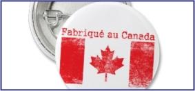 Articles promotionnels fabriqué au Canada